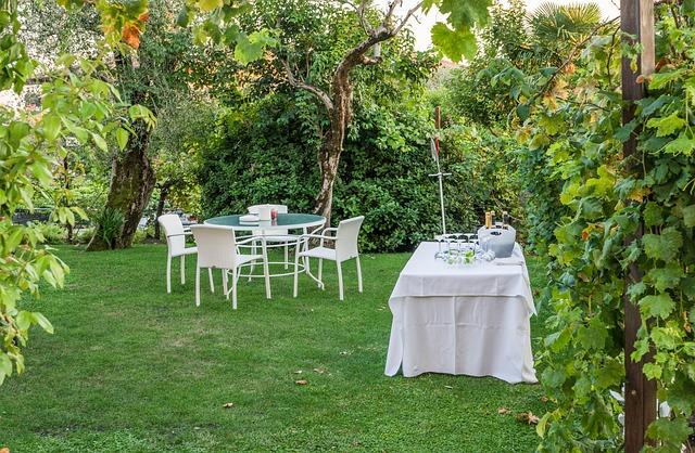 Czy impreza w ogrodzie może się udać?